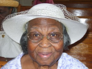 """Miss"" Maizie at her 98th Birthday"